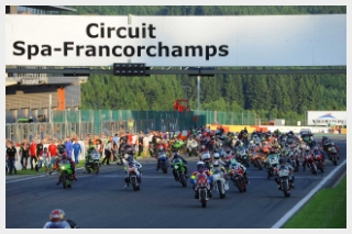 Bikers Classics European Classic Series Spa Francorchamps MotoMartin Honda Endurance racing