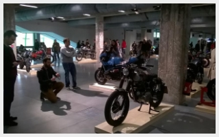 the bike shed paris custom motorcycle show caferacer rebuild