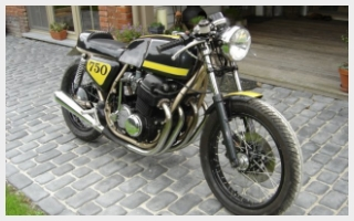 Deep Creek Cycleworks Honda CB 750 rebuild caferacer 70's