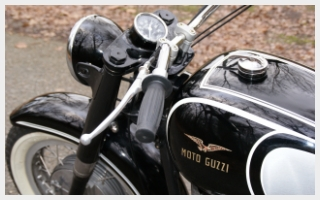 Custom motorcycle Moto Guzzi V700 rebuild bobber custom motorcycle The Italian Bastard