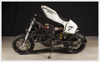 Flattracker caferacer rebuild Ducati ST2 944 special DFT2 DCC