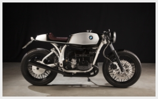 Helmut caferacer bmw r100 custom motorcycle deep creek cycleworks